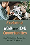 Exploring Work-From-Home Opportunities: How To Find Your Dream Job Without Scamming: How Disabled People Can Work (English Edition)