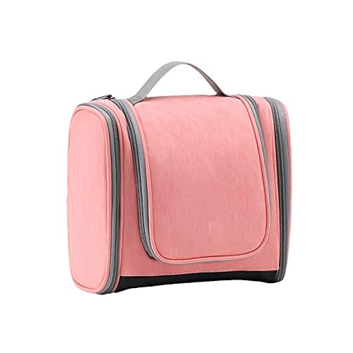 TreeLeaff Bolsa de aseo colgante para hombres y mujeres, bolsa de viaje impermeable, bolsa de cosméticos organizador de maquillaje, bolsa de aseo compacta para gimnasio, bolsa de ducha