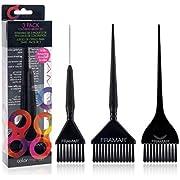 Framar Family Pack Hair Color Brush Set, Hair Dye Brush Set - 3 Pack