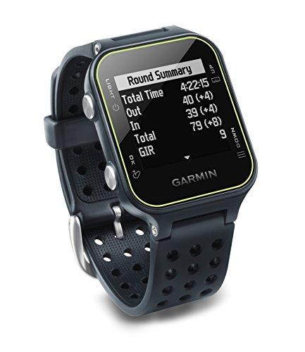 Garmin Approach S20 - Reloj de golf con GPS, Gris (Slate)