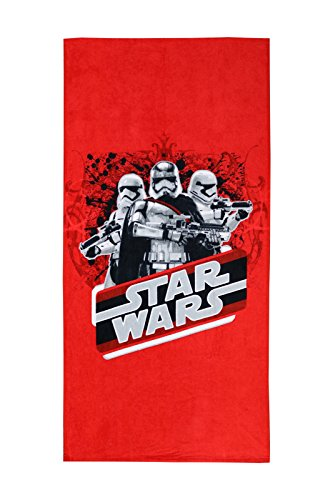 Spaces Starwars LucasFilms 350 GSM Cotton Bath Towel - Red