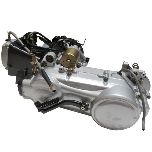 X-PRO 150cc Short Case Air cooled GY6 Scooter Engine w/Automatic Transmission, Electric Start for GY6