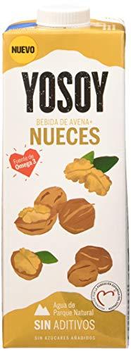 Yosoy - Bebida de Avena con Nueces, 6 x 1L