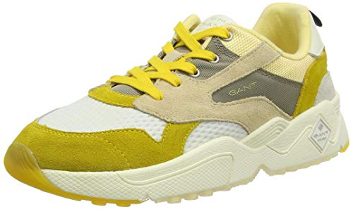 Gant Nicewill, Zapatillas Mujer, Beige (Yellow/Beige G158), 36 EU