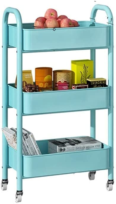 YLCS Albuquerque Mall Kitchen Storage Trolley Pp Shelf Max 72% OFF Rack House