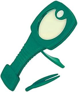 """Theo Klein 2634""""Kids Garden Hand Magnifier Set with Tweezers (Large)"""