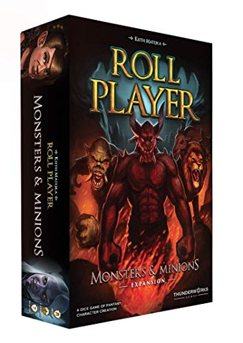 Thunderworks Games Roll Player: Monsters and Minions Strategy Boxed Board Game Expansion Ages 12 & Up (TWK2002)