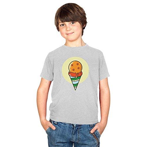 NERDO Unisex Dragon Ice Cream T-shirt voor kinderen