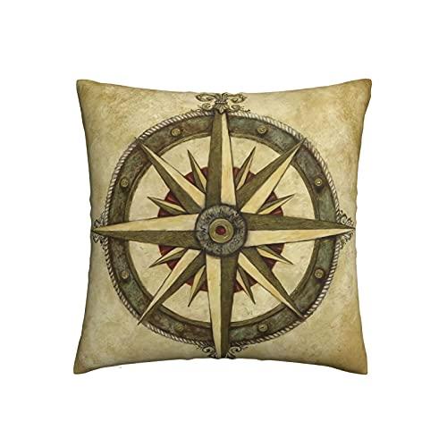 Mengmeng Fundas de almohada decorativas decorativas de 45 x 45 cm, fundas de cojín cuadradas para el hogar, sofá, dormitorio, sala de estar