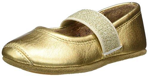 Bisgaard Mädchen Ballet Geschlossene Ballerinas, Gold (02 Gold), 29 EU