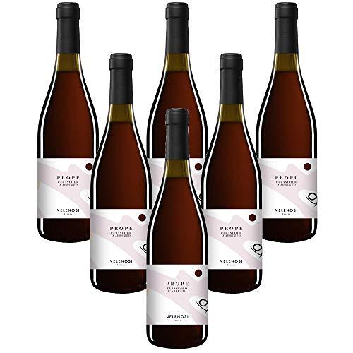 VELENOSI-Weine - Abruzzen-Marke PROPE Cerasuolo d'Abruzzo DOC Italienischer rosèwein (6 flaschen 75 cl.)