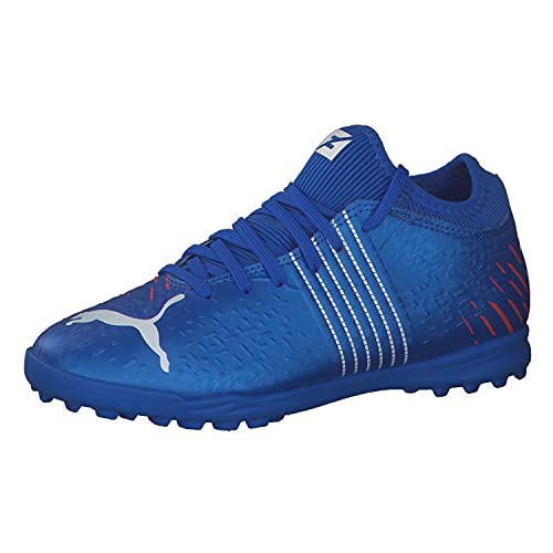 Puma Future Z 4.2 TT Jr, Zapatillas de fútbol, Bluemazing-Sunb, 35 EU