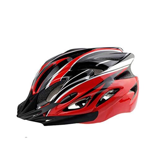 LLKK Sombrero de Bicicleta,Casco de Ciclismo,1 Casco de Bicicleta de ala de Aire Neutral para jóvenes,Equipo de Bicicleta de montaña para Hombres y Mujeres,Equipo de equitación,Casco de equitación