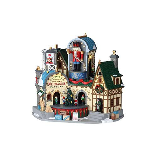 Lemax Holiday & Christmas Collection Ludwig's Wooden Nutcracker Factory