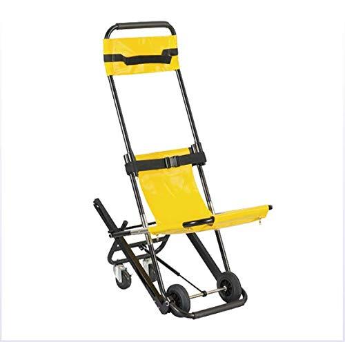 VBARV Silla de Escalera Plegable, Camilla de Escalera portátil Silla de Escalera de elevación médica…