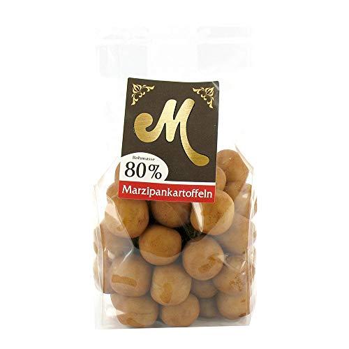 Edel-Marzipankartoffeln mit Korb (350g)