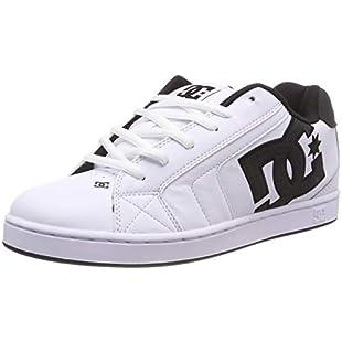 DC Shoes Men's Net Se Skateboarding Shoes, White (White/White/Black-Combo Xwwk), 12 UK