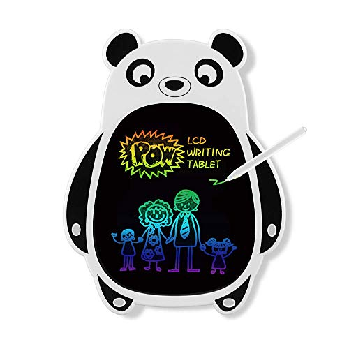 Gomyhom 8.5 ' LCD Panda Writing Tablet , Electronic Drawing Pads for Kids and Toddler Writing Learning and Scribble , Colorful Screen Toy for 3 4 5 6 Years Old Boys and Girls