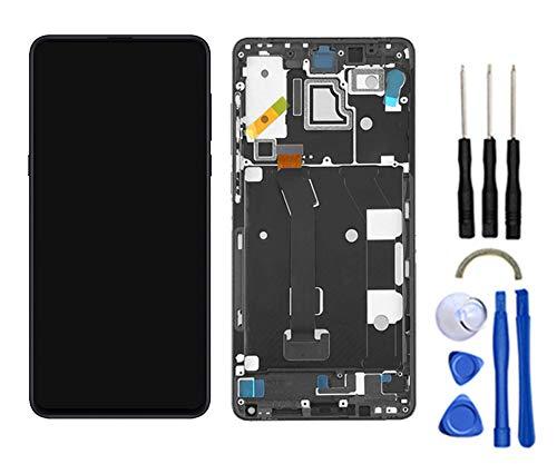 Snailcanfly Sostituzione Completa Schermo Assemblea per Xiaomi Mi Mix 3 Mix3 M1810E5A 6.39inch Display LCD Touch Screen Digitizer Nero con Cornice