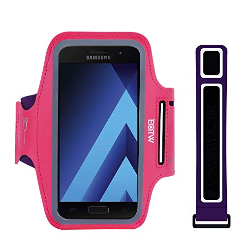 Sportarmband Handy Universal - EOTW Armtasche Kompatibel mit iPhone 12/11/11 Pro Max/XR/XS Max Huawei P30 Pro/Mate 30 Samsung Galaxy S20/S10/Note 10 Handytasche für Joggen Running (5''-6,7