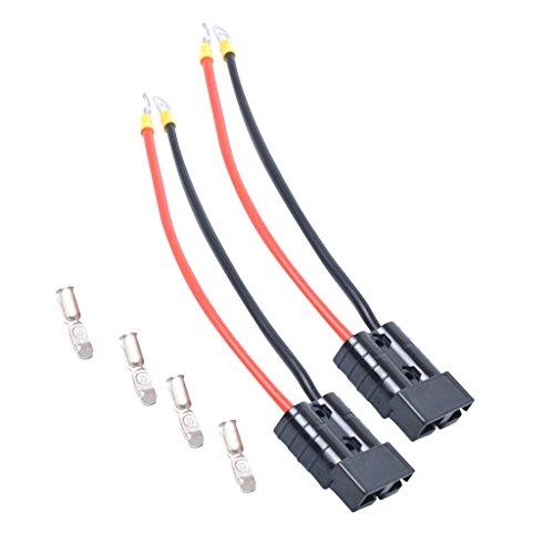 prasku 2 Piezas de Remolque de Cabrestante 4WD Frigoríficos 50A Batería Conector de Desconexión Rápida Enchufes