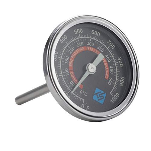 Yihaifu Termometro di Cottura quadrante in Metallo termometro Dial Portatile termometro di Cottura Barbecue Cucina Barbecue Temperature Gauge