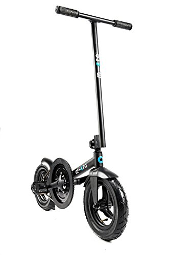 Micro pedalflow Klappfahrrad ohne Sattel Farbe schwarz