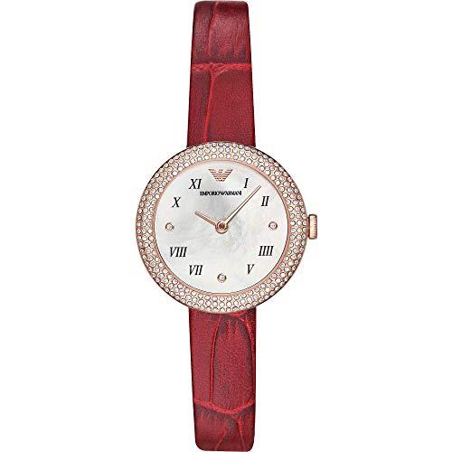 Emporio Armani - Reloj solo tiempo para mujer, estilo informal, cód. AR11357