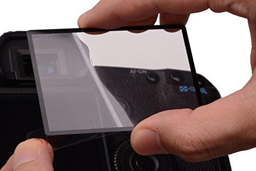 Rollei Profi Universal Bildschirmschutz (7,6 cm (3 Zoll), 16:9,Touchscreen, Schwenkbildschirm, Kratzfest/bruchsicher/stoßfest)