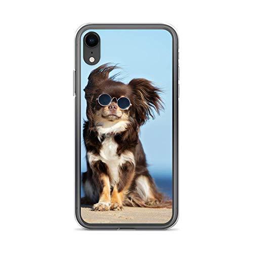 blitzversand Handyhülle WASCHBÄR REH kompatibel für LG G5 Hund Brille Schutz Hülle Case Bumper transparent rund um Schutz Cartoon M4