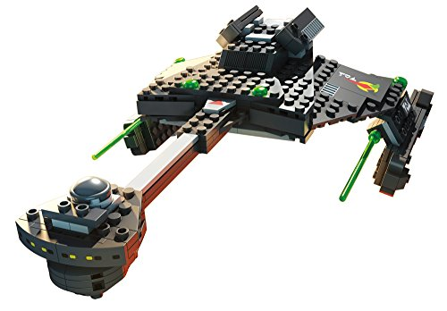 Mega Bloks Star Trek Klingon D7 Battle Cruiser Collector Construction Set