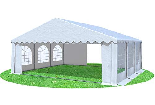 Stabilezelte Partyzelt Festzelt 6x6m Giant Pro PVC 550/g² feuersicher mit Fenster
