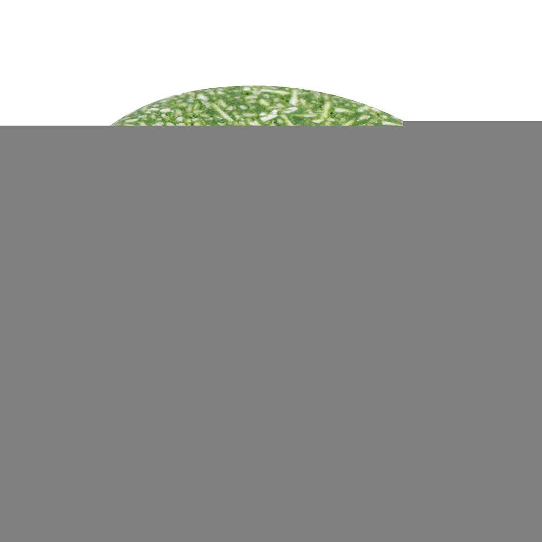 刈り取る彼の不毛の4色オーガニック手作りコールド加工シナモンシャンプーバー100%ピュアヘアシャンプー(緑)