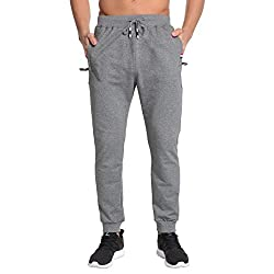 Joggers Bottoms:Elasticated waist Drawstring adjustable waist for improved comfort and fit Suitable for Running, Jogging, Gym, Training, Fitness, Sports, Workout, Dance, Golf, Exercise, Joggers, etc. SIZE CHART (Suggest):XS ---Waist 26-28 inch,Weight...