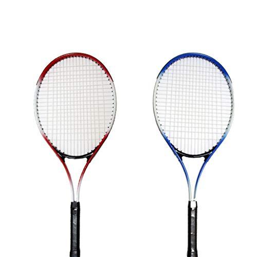 El Juego de Raquetas de Tenis para Entrenamiento Deportivo con Raquetas de Tenis para Adultos se Puede Usar en Interiores y Exteriores