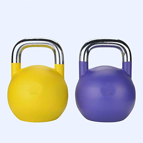 liutao Kettlebells competitivos 4-32kg Fitness Kettlebell Fitness para Hombres Mancuernas Ejercicio Brazo...
