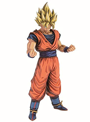 Banpresto- Tales Symphonia: Dawn of The New World, Wii Dragon Ball Otro Dragonball Z Grandista Super Saiyan Son Goku Manga (Bandai 81023)