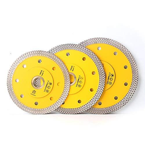 ZhuJinSheng Snijschijf 105/115mm/125mm Super Dunne X Vorm Diamant Porseleinen Zaag Blade hete gesinterde Diamond Circulaire schijf voor het snijden Porseleinen Tegels 22.23mm-16mm 22.23mm-16mm