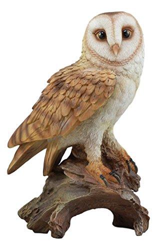 realistic owl figurine for sale