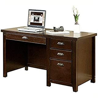 Martin Furniture Tribeca Loft Cherry Single Pedestal Desk-Fully Assembled (B001TFOIV2) | Amazon price tracker / tracking, Amazon price history charts, Amazon price watches, Amazon price drop alerts