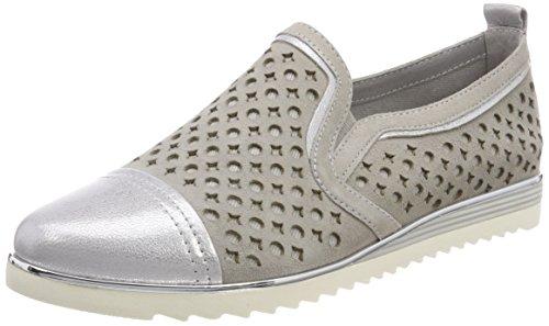Be Natural Damen 24740 Slipper, grau (Lt. grey), 37 EU