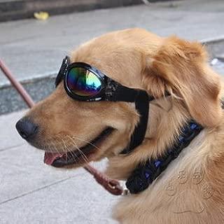 (ヨーテイ) Youtei 7kg以上 中型 大型 犬 用 サングラス メガネ ゴーグル 黒