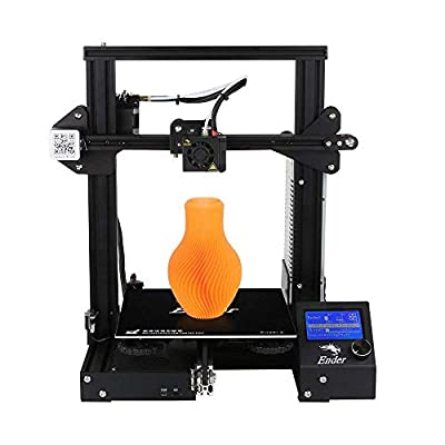 CCTREE 2020 New Version Creality Ender 3 3D Printer Aluminum DIY with Resume Printing for Home & School Use 220x220x250mm