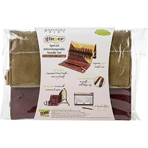 Knitter's Pride Ginger Deluxe Special Interchangeable Set