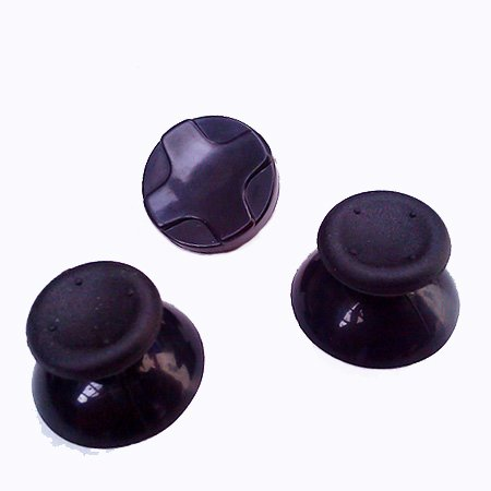 Xbox 360 Black Controller Replacement Thumb Sticks (Joysticks +Thumbstick) + D Pad by CandG [Importación Inglesa]