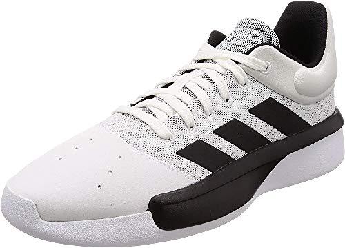 adidas Herren Pro Adversary Low 2019 Basketballschuhe, Weiß (Ftwr White/Core Black/Grey Four F17), 46 2/3 EU