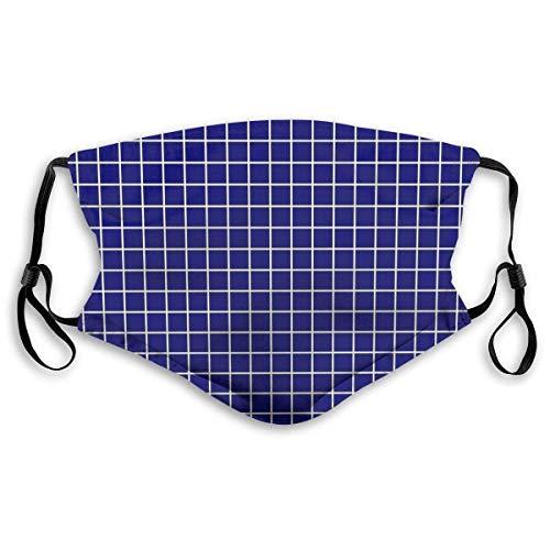 Air kong Housse de protection complète pour le visage Bleu marine 3 housses de ski, housse de protection anti-poussière, chapeau cache-cou, chapeaux avec deux filtres remplaçables