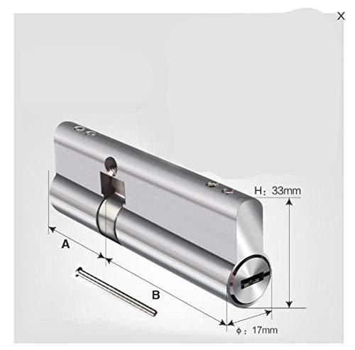 Schließzylinder Profilzylinder Zylinder Türzylinder 70Mm-120Mm Super C Grade Edelstahl Diebstahlschutz Türschloss Kern Sicherheitsschloss Zylinder SchlüsseltürZylinderschloss 8 Schlüssel-24
