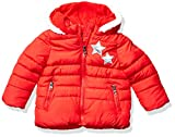 Steve Madden Girls Baby Girls Bubble Jacket (More Styles Available), Stars Red, 12M