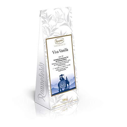 Ronnefeldt - Viva Vanilla (ehem. Bourbon Vanilla)  - Aromatisierter Schwarzer Tee - 100g